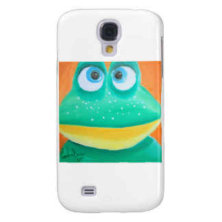 Frog face cute illustration picture samsung s4 case