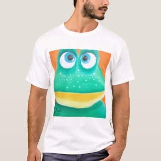 Frog face cute illustration picture T-Shirt