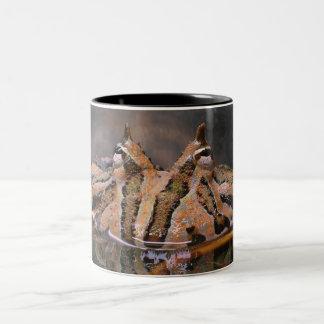 Frog Face Two-Tone Coffee Mug