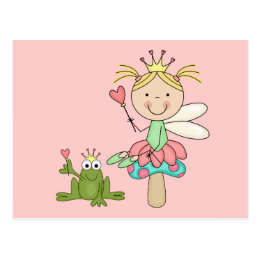 Frog Fairy - Blond T-shirts and Gifts Postcard