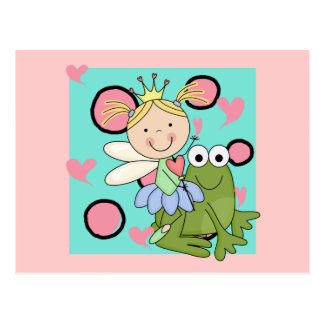 Frog Fairy Out For a Hop Tshirts and Gifts Postcard