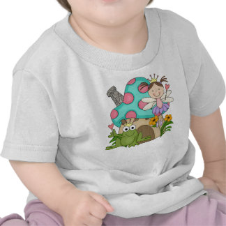 Frog Fairy Toadstool House Tshirts and Gifts