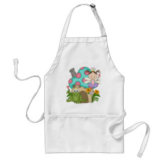 Frog Fairy Toadstool House Tshirts and Gifts Adult Apron