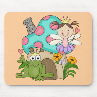 Frog Fairy Toadstool House Tshirts and Gifts Mouse Pad