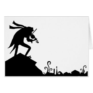 Frog Fiddler on the Roof Greeting Card
