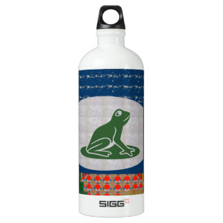 FROG FISH Pet KIDS Colorful Art FUN PICNIC SIGG Traveler 1.0L Water Bottle