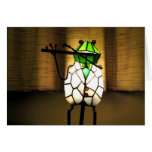 Frog Flute Greeting Card