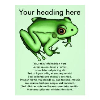 Frog, flyer