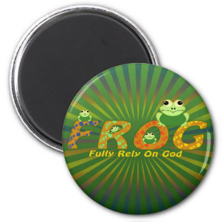 FROG FRIDGE MAGNET