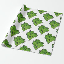 Frog Frog Wrapping Paper