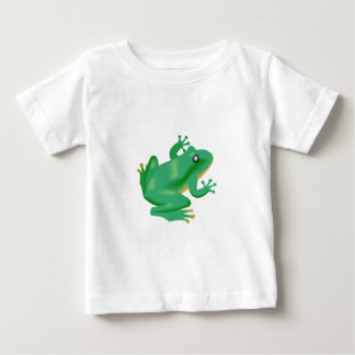 Frog Froggy France Tadpole Baby T-Shirt