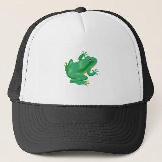 Frog Froggy France Tadpole Trucker Hat