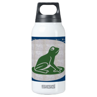 FROG Froggy Pet Green CUTE Animal 10 Oz Insulated SIGG Thermos Water Bottle