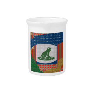 FROG Froggy Pet Green CUTE Animal GIFTS Beverage Pitchers