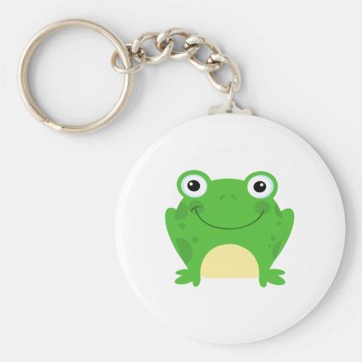 Frog Frogs Amphibian Green Cute Cartoon Animal Key Chains