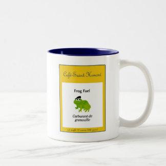 Frog Fuel Two-Tone Coffee Mug