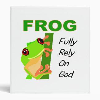 FROG, Fully rely on God Binder