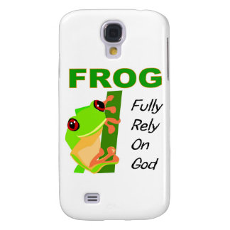 FROG, Fully rely on God Galaxy S4 Cases