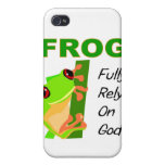 FROG, Fully rely on God iPhone 4 Covers
