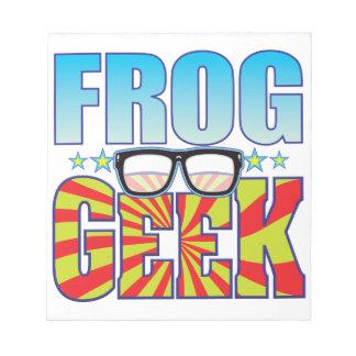 Frog Geek v4 Notepads
