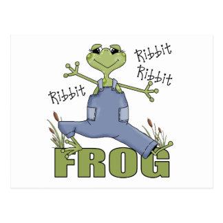 Frog Gift For Kids Postcard