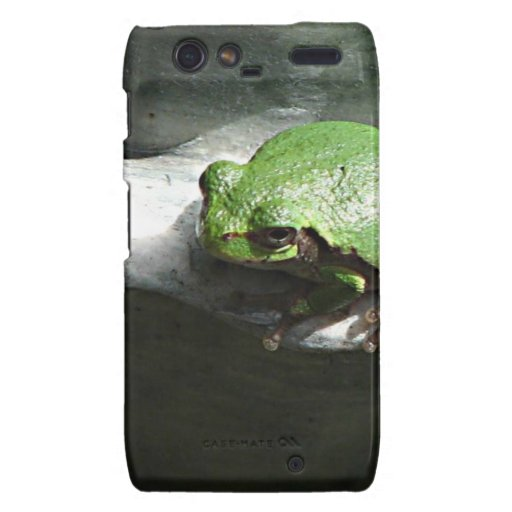 Frog Green Droid RAZR Cover