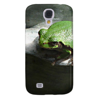 Frog Green Samsung Galaxy S4 Cover