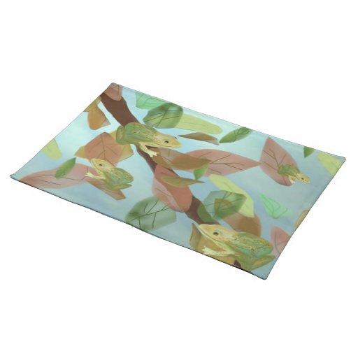 Frog Habitat American Mojo Custom Placemats