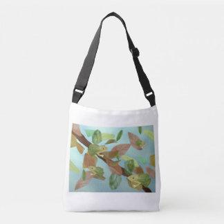 Frog Habitat Crossbody Bag