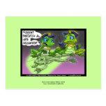 Frog Homicide Police Cartoon On Funny Postcards Post Card