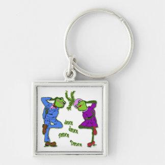Frog Hop Dance Dance Keychain