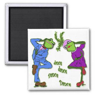 Frog Hop Dance Dance Magnet