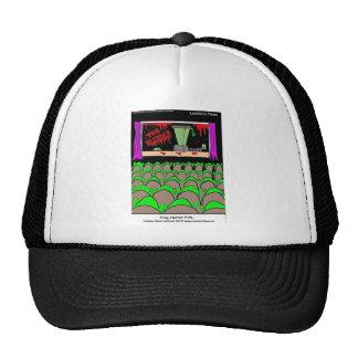 Frog Horror Film Funny Tees Mugs Cards More Trucker Hat