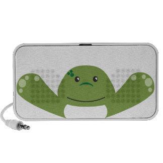 Frog Hugs Travel Speakers