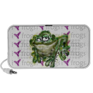 frog-i love frogs speakers