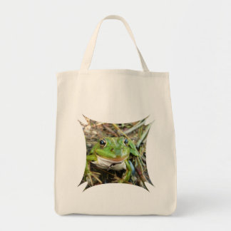 Frog Images Grocery Tote Bag