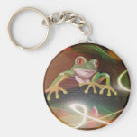 Frog in a Bubble Keychain