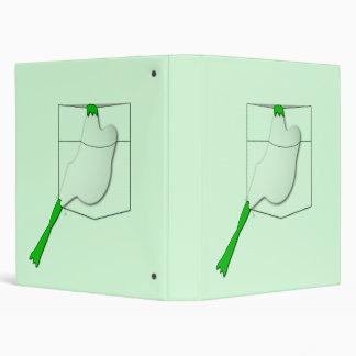 Frog In A Green Pocket Binders