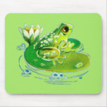 Frog In A Pond Mousepad