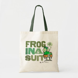 Frog in a Suit Budget Tote