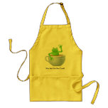 Frog in a Tea Apron