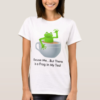Frog in a Tea T-Shirt