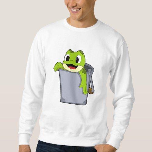 Frog in Bucket Sweatshirt