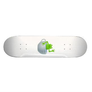 Frog in Cup Cartoon Skateboard Decks