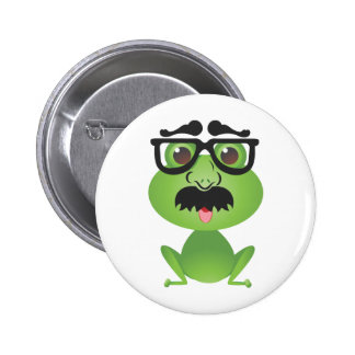 Frog in Disguise Button
