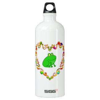 Frog in Fancy Heart SIGG Traveler 1.0L Water Bottle