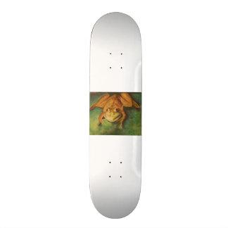 Frog in Pastels Skateboard