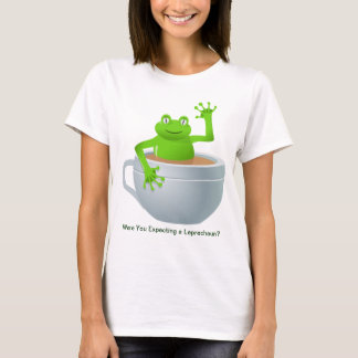 Frog in Tea St. Patrick's Day T-Shirt