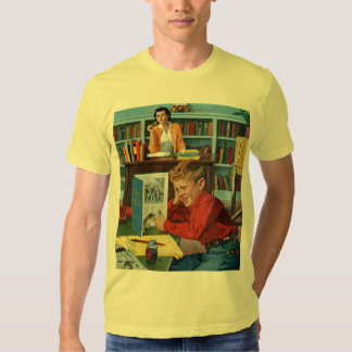 Frog in the Library Shirt