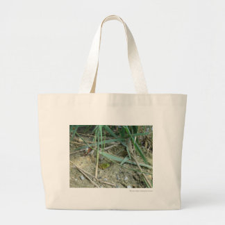 Frog in the Reeds Canvas Bag